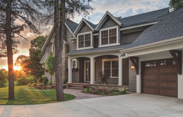 LP® ArchForm™ sur une maison