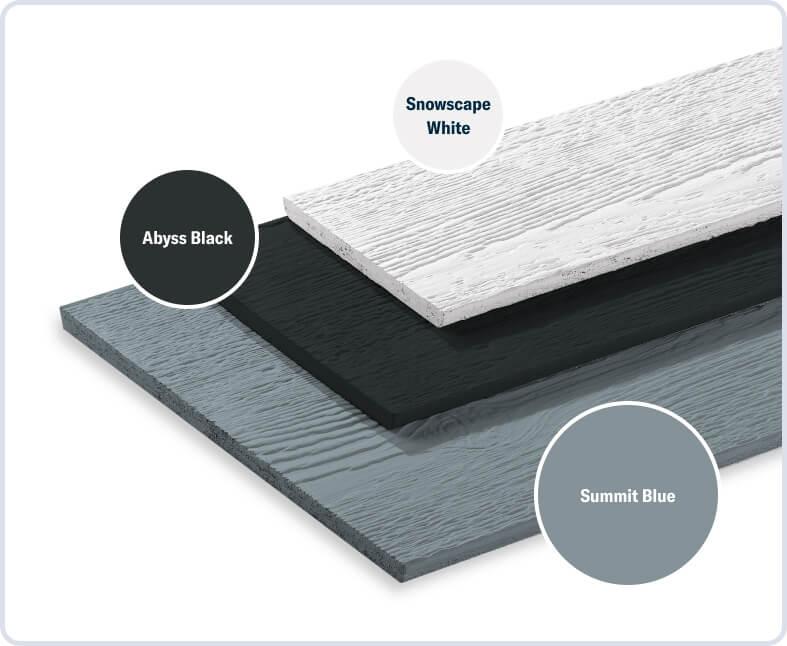 Summit Blue + Abyss Black + Snowscape White