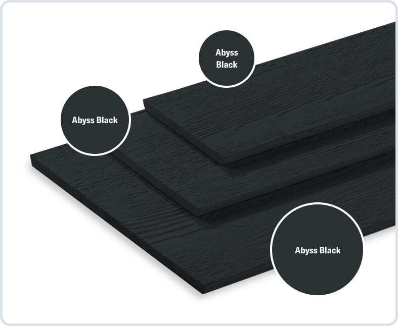 Abyss Black + Abyss Black + Abyss Black