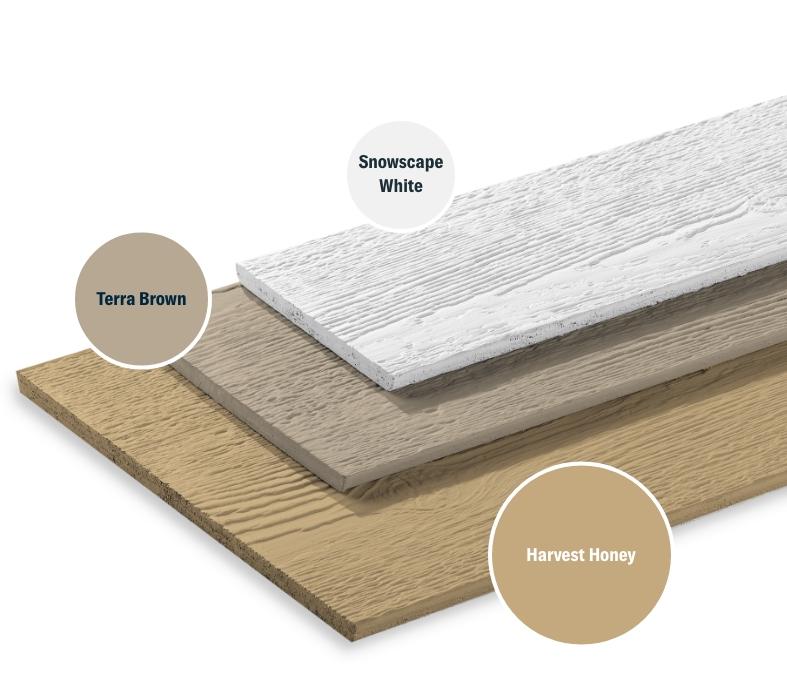 Shoreline Cream + Terra Brown + Snowscape White