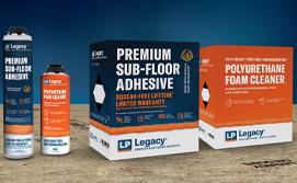 Premium Sub-Flooring Adhesive and Polyurethane Foam Cleaner
